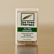Tea Tree Therapy Toothpicks Mint & Tea Tree Oil 100ct